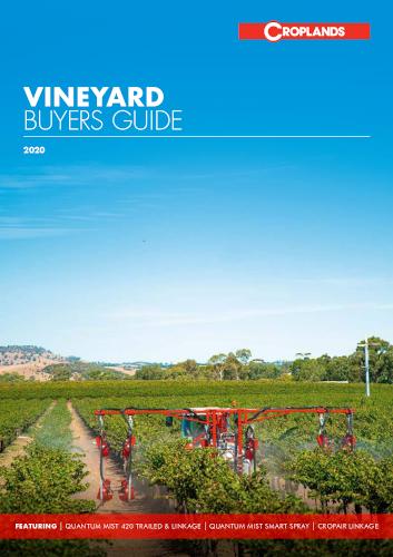 2020 Croplands Vineyard Buyers Guide