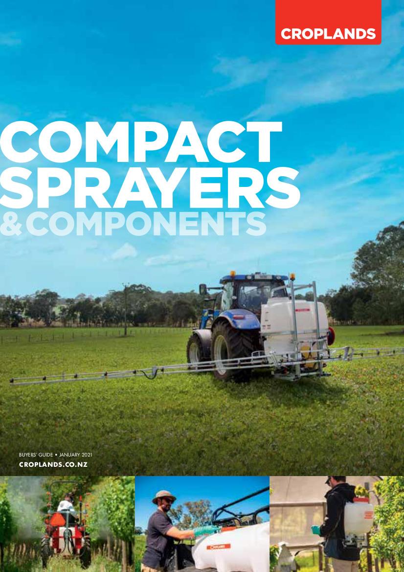 Croplands Sprayer Guide