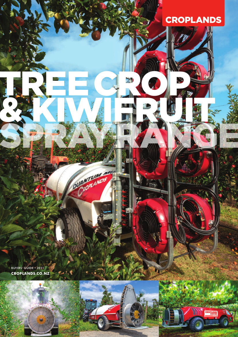 Croplands 2021 Tree Crop 7 Kiwifruit Buyers' Guide Cover