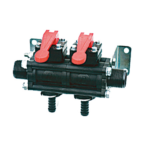 2 Bank Manual Valves - A463CCRO09