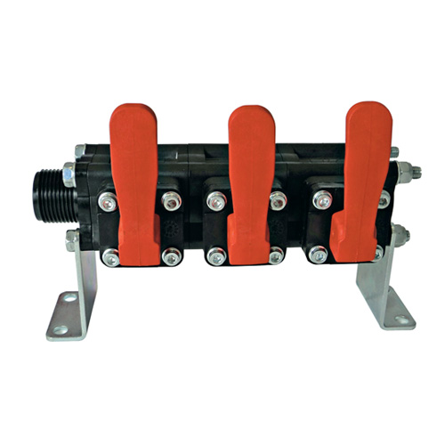 3 Bank Manual Valves - A463CCRO10