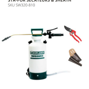 Swissmex SW320 Sprayer bubdle with STA-FOR Secateurs & Sheath
