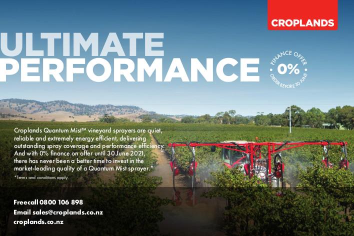Croplands Vineyard Sprayers 0% Finance Offer