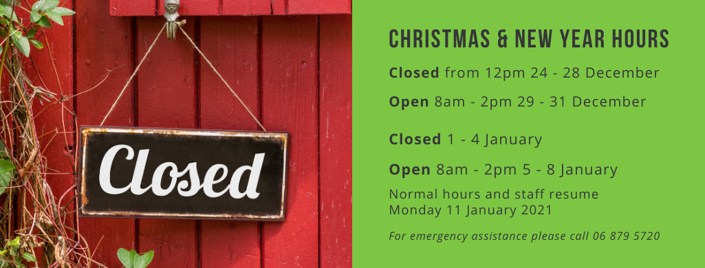 Spray shop holiday opening hours