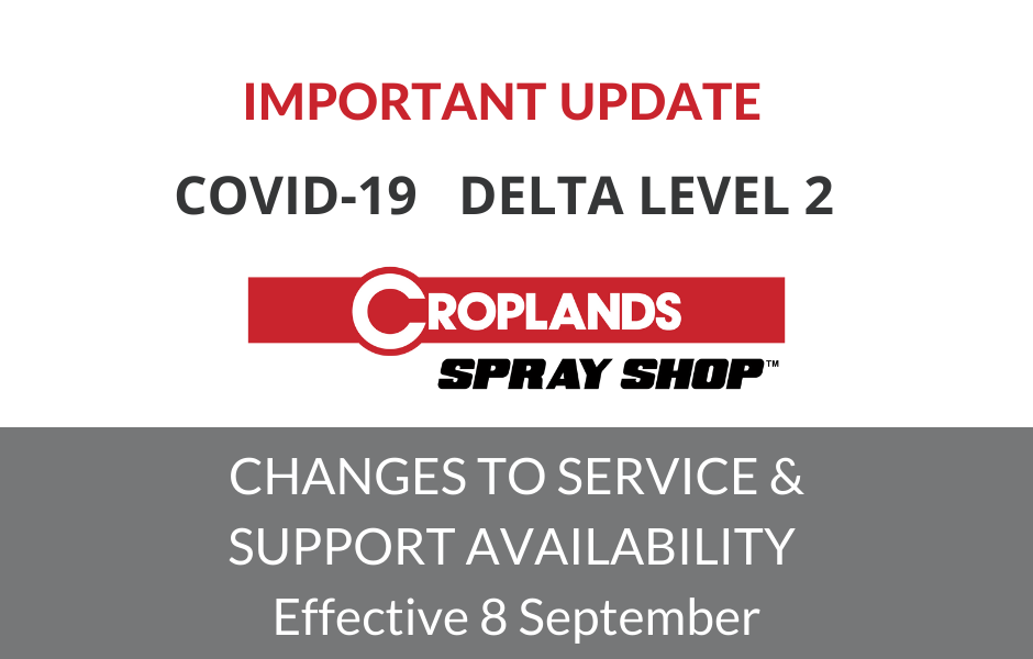 Spray Shop Covid Level 2 Operating Notice for Blog