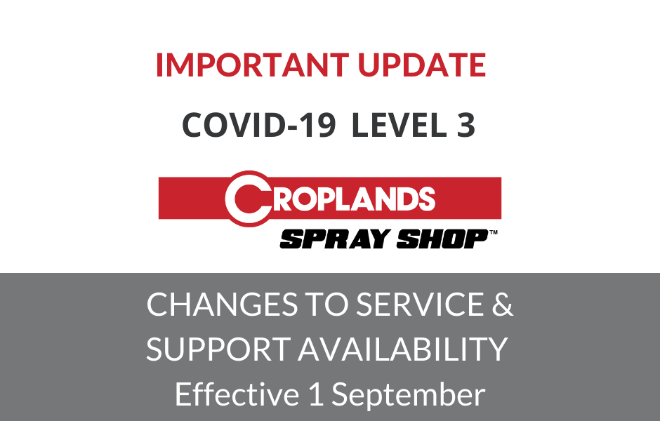 Croplands Level 3 Operations Notice