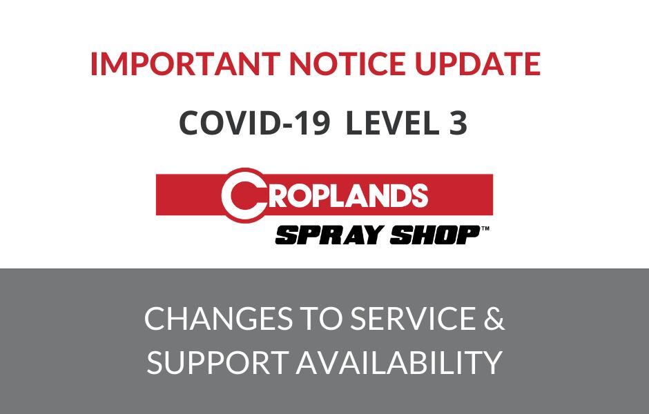 Covid19 Level 3 Notice