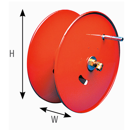 Hose Reel 50m side mount - L-R0260