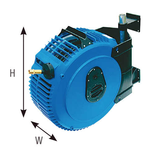 Hose Reel Retractable 15m x 10mm