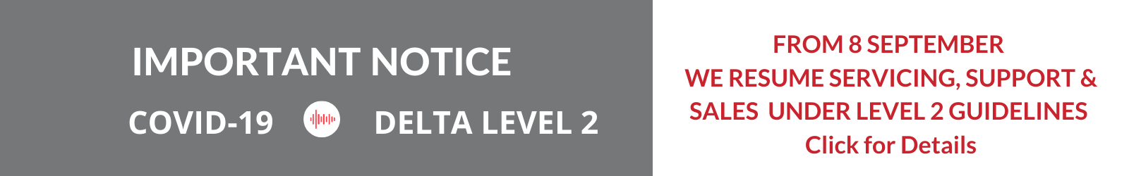 Spray Shop Covid Level 2 Operating Notice