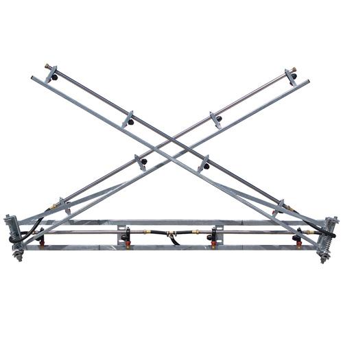 6 metre galvanised boom - MBX06