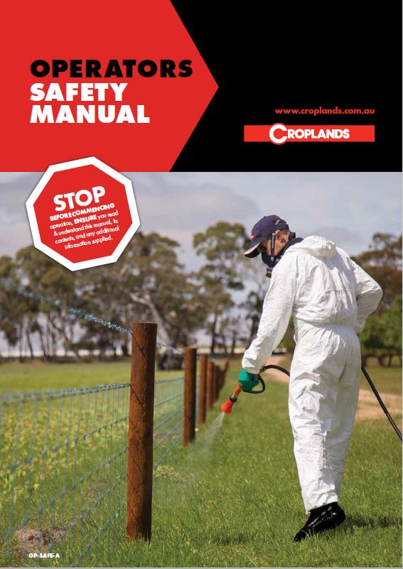 Croplands Operators Safety Manual Cover