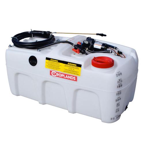 CropPak 200 litre sprayer with 7.6 l/m pump - US200