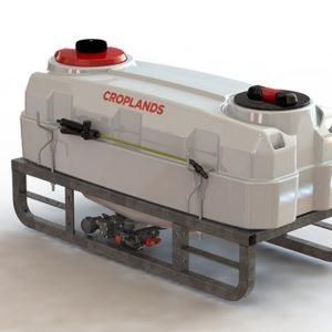 Croplands CropPak 200L Sprayer with 11 l/min pump