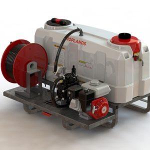 Croplands 300L TrayPak traymount sprayer with manual reel