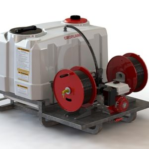 Croplands 600 Litre TrayPak Sprayer with Twin Manual Hose Reels