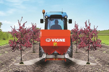 Croplands vigne spreader