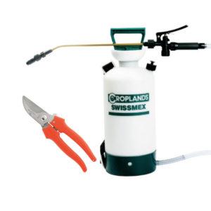 Swissmex Knapsack Sprayer with Garden Shears Bundle-3