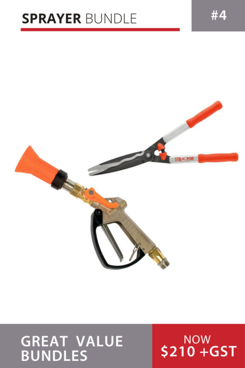 Turbo Gun and Sta-for Hedge Cutters