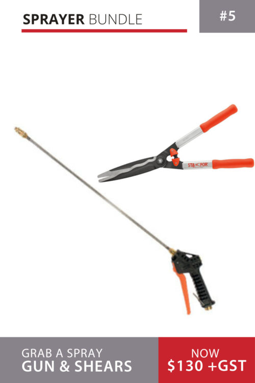 Croplands Spray lance and Hedge Cutters Bundle
