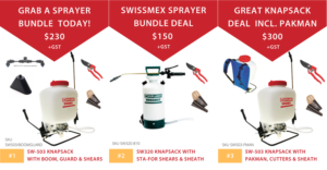 Croplands Sprayshop Summer Bundle Specials